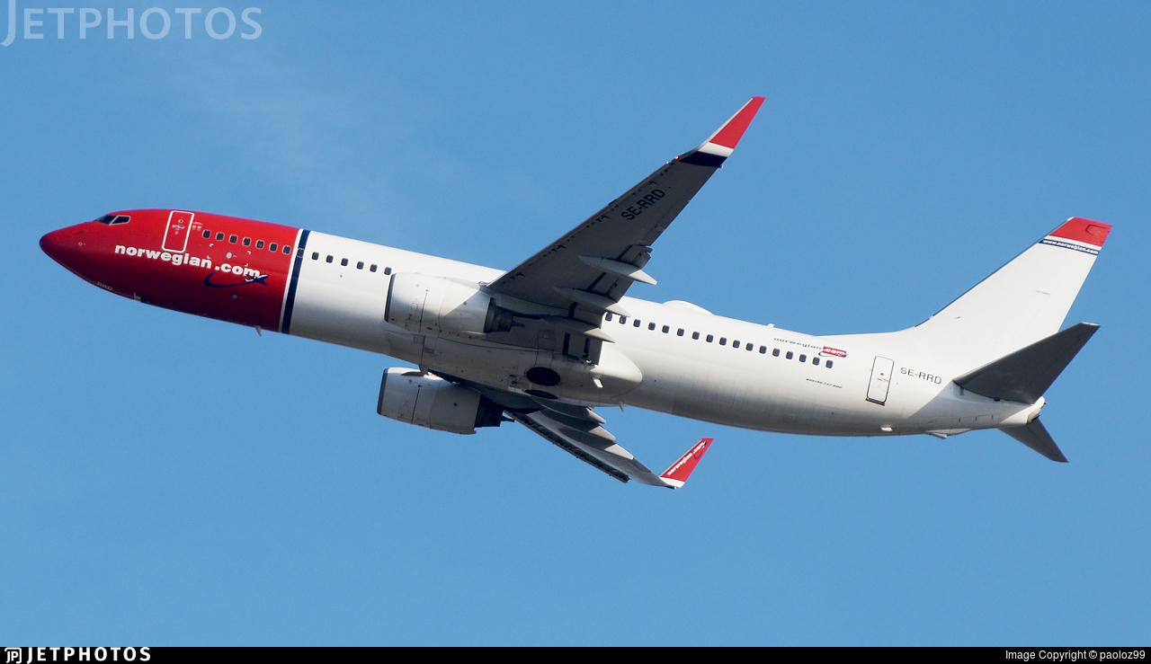 SE-RRD - Boeing 737-8JP - Norwegian