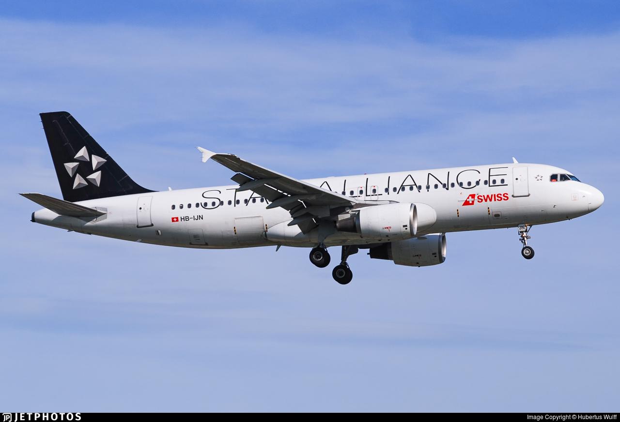 HB-IJN - Airbus A320-214 - Swiss