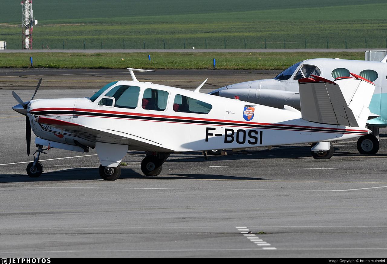F-BOSI - Beechcraft V35 Bonanza - Private