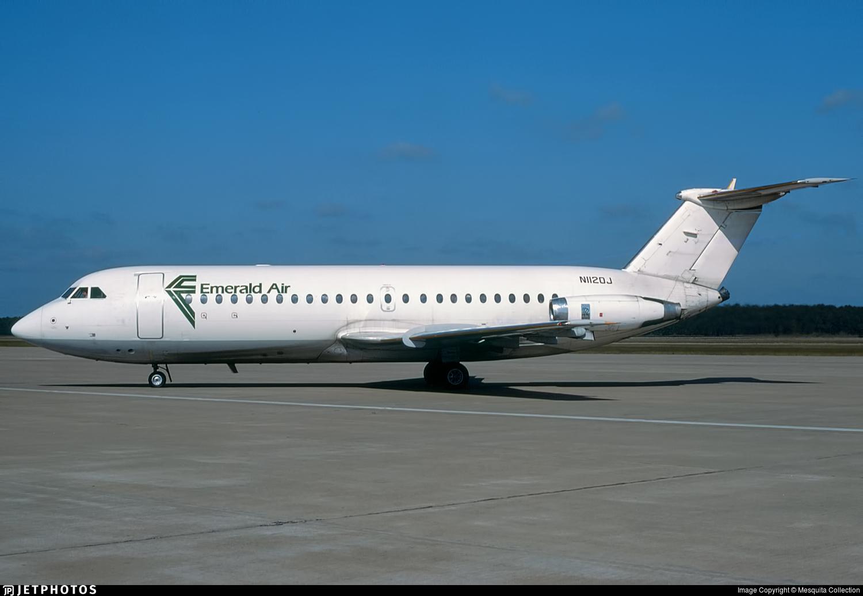 N1120J - British Aircraft Corporation BAC 1-11 Series 204AF - Emerald Air