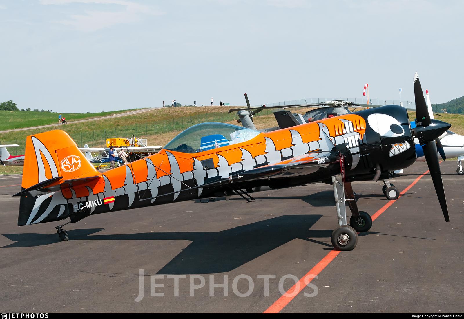 EC-MKU - Sukhoi Su-31 - Private