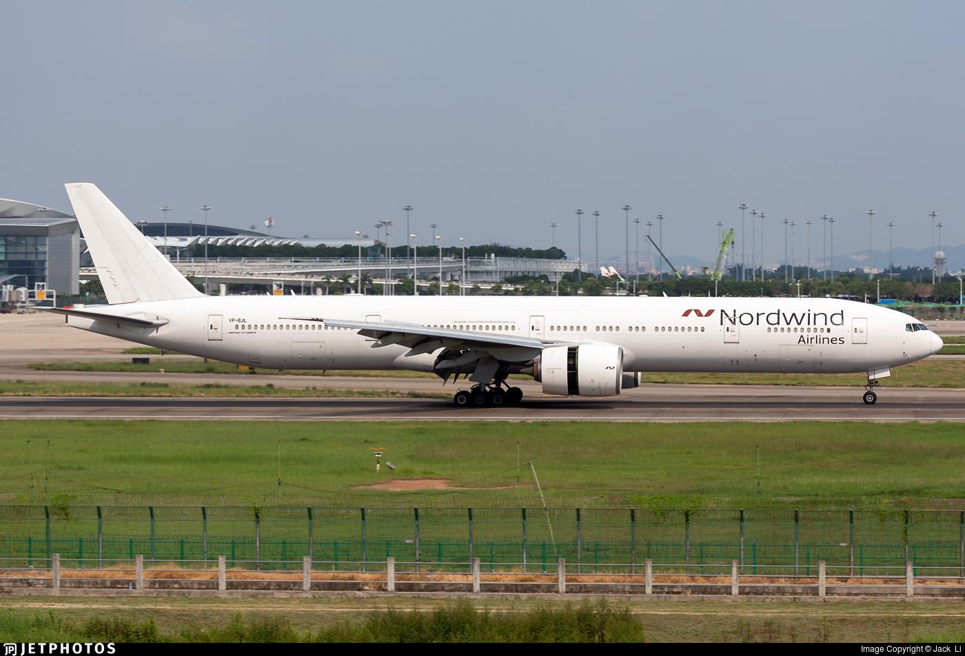 VP-BJL - Boeing 777-35EER - Nordwind Airlines