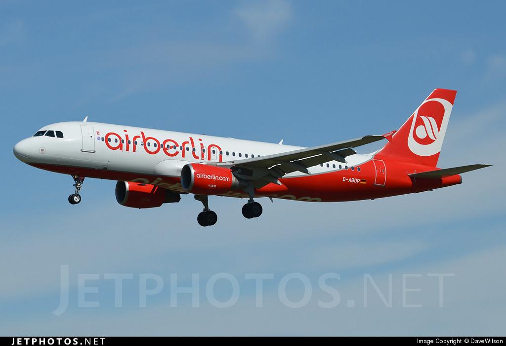 D-ABDP - Airbus A320-214 - Air Berlin