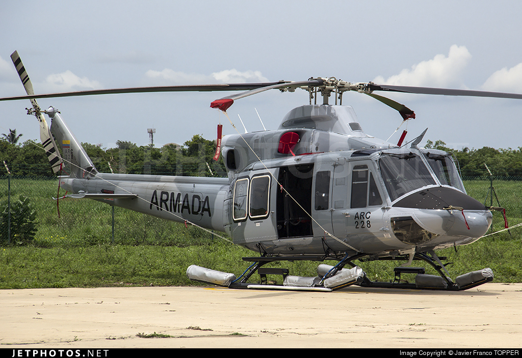 ARC228 - Bell 412EP - Colombia - Navy