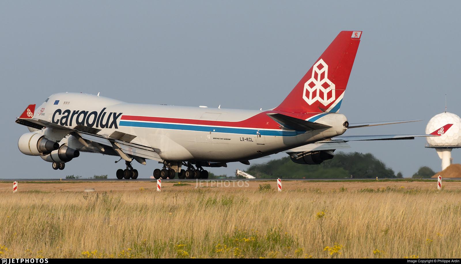 LX-KCL - Boeing 747-4HAERF - Cargolux Airlines International