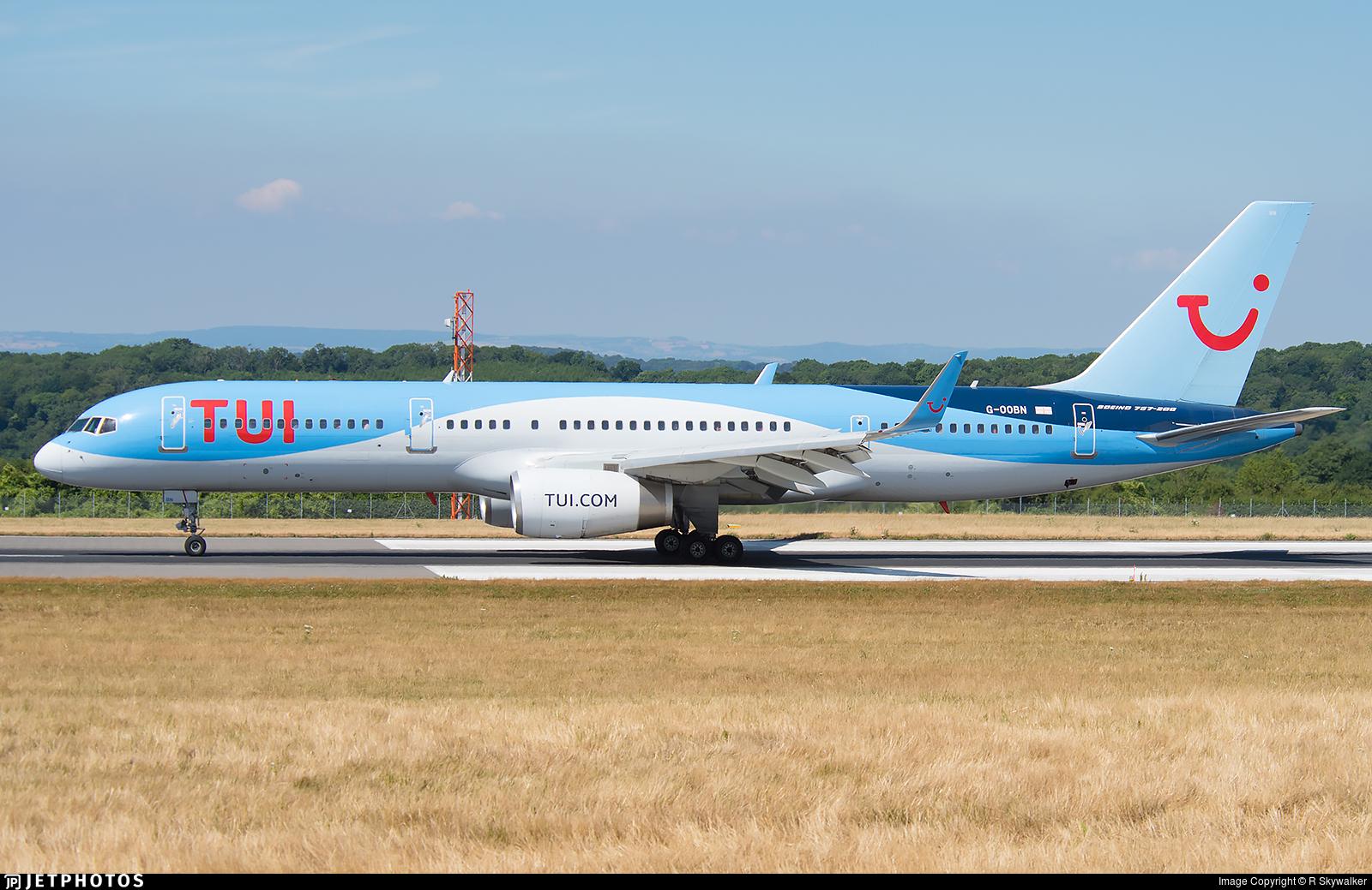 G-OOBN - Boeing 757-2G5 - TUI
