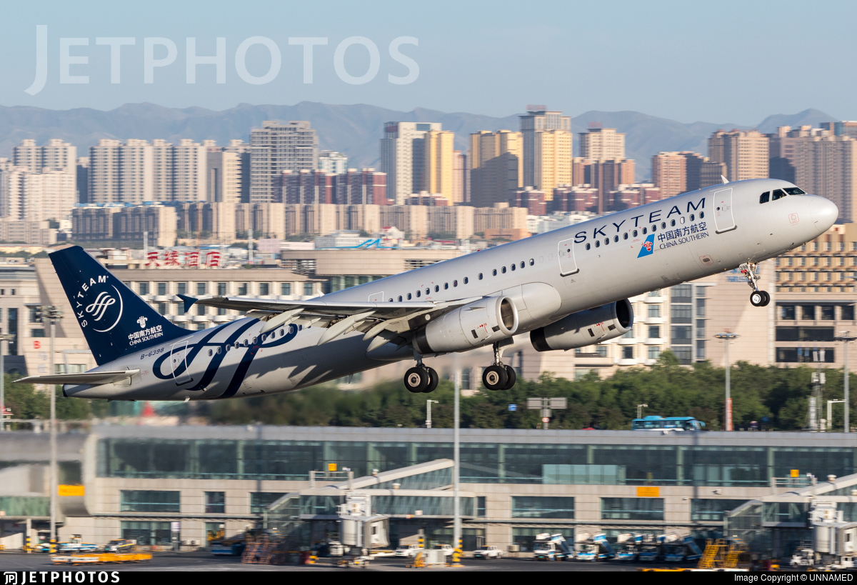 B-6398 - Airbus A321-231 - China Southern Airlines