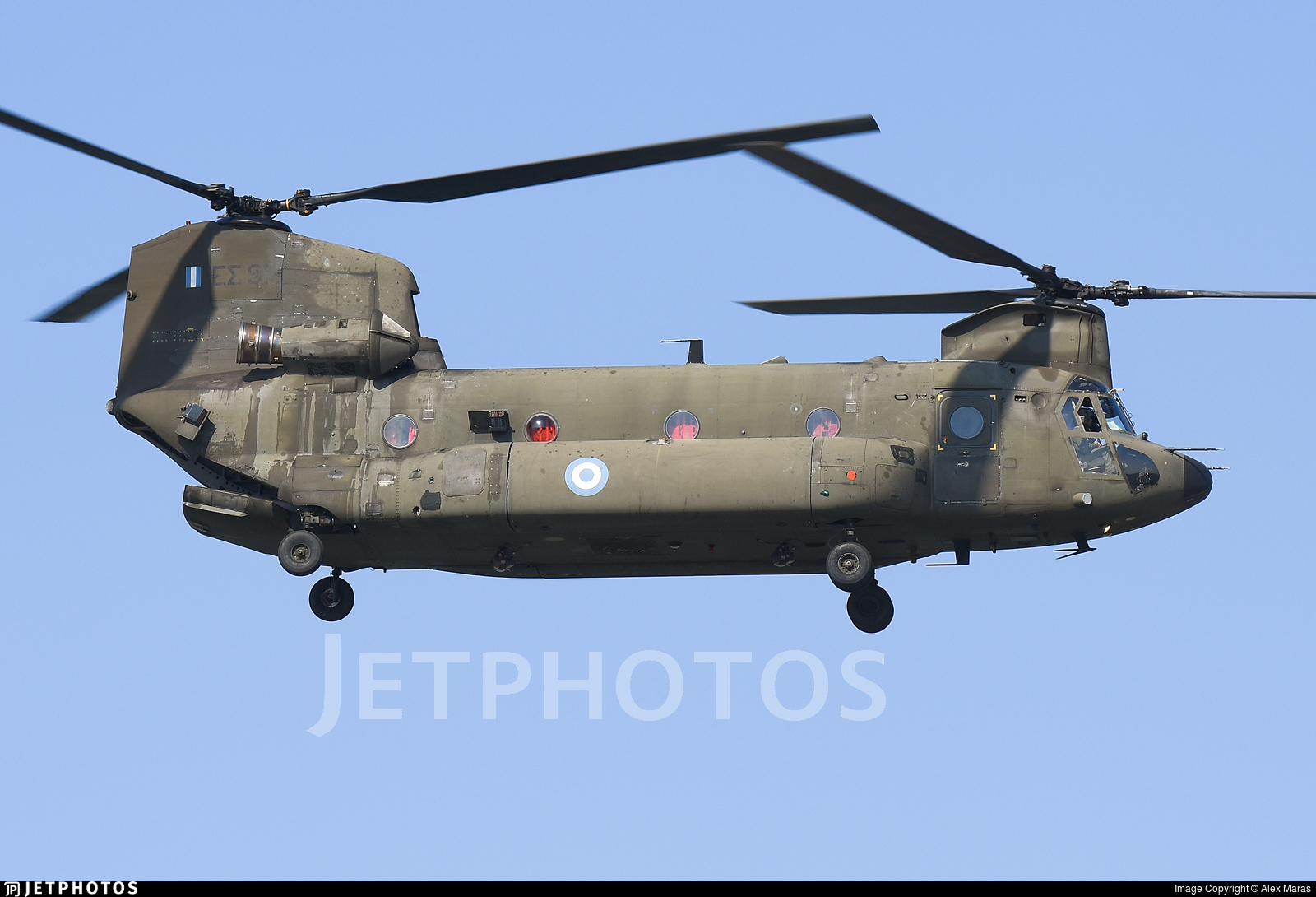 ES913 - Boeing CH-47SD Chinook - Greece - Army