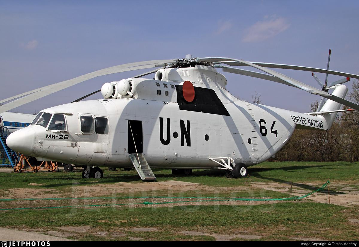64 - Mil Mi-26 Halo - United Nations (UN)