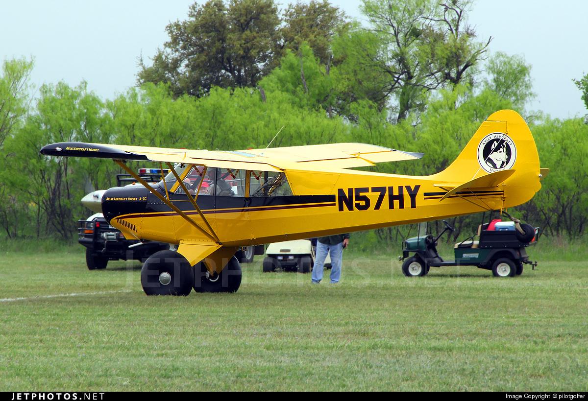 N57HY - Aviat A-1C Husky - Private