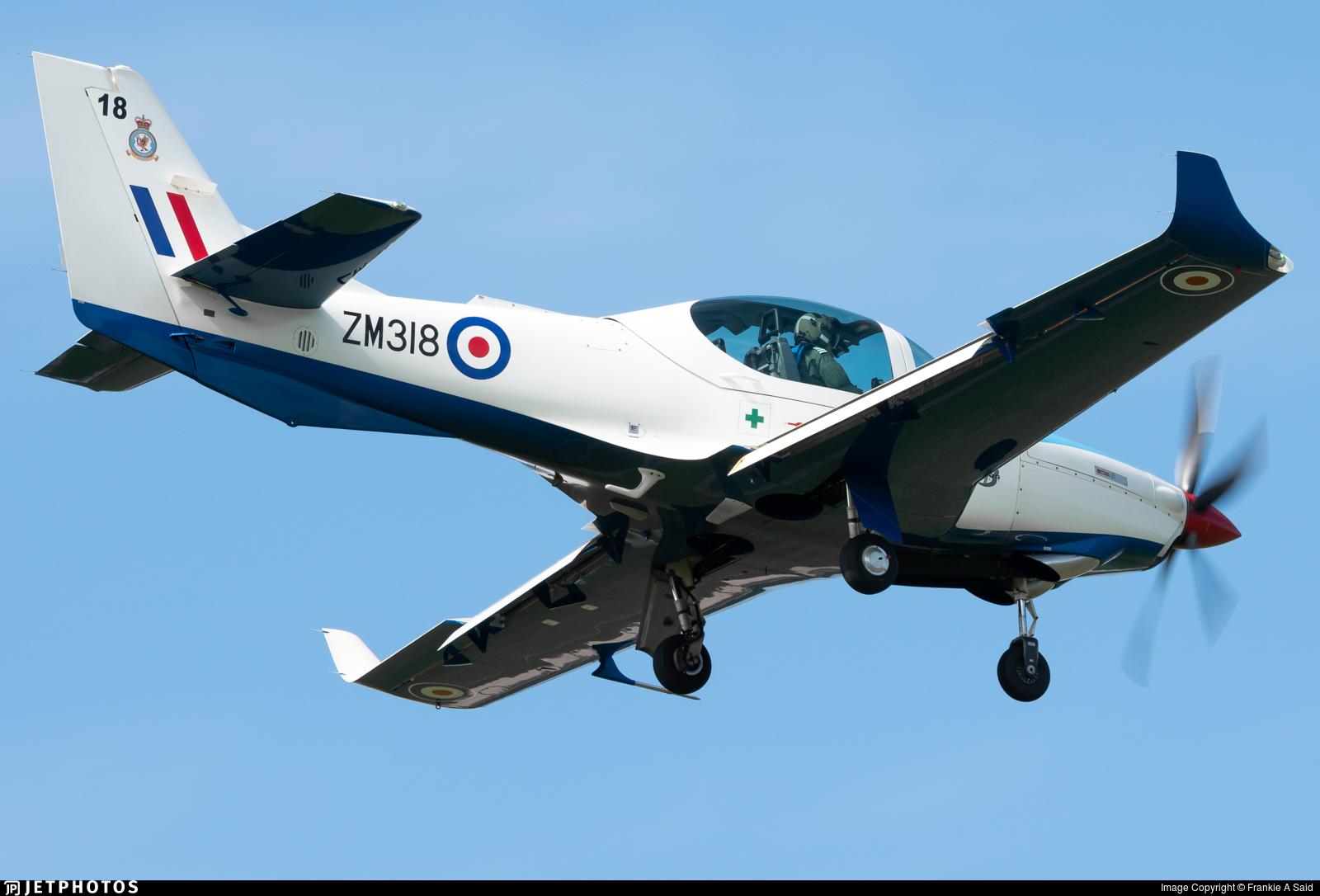 ZM318 - Grob G120TP-A Prefect T1 - United Kingdom - Royal Air Force (RAF)