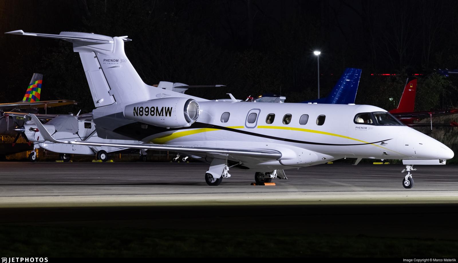 N898MW - Embraer 505 Phenom 300 - Private