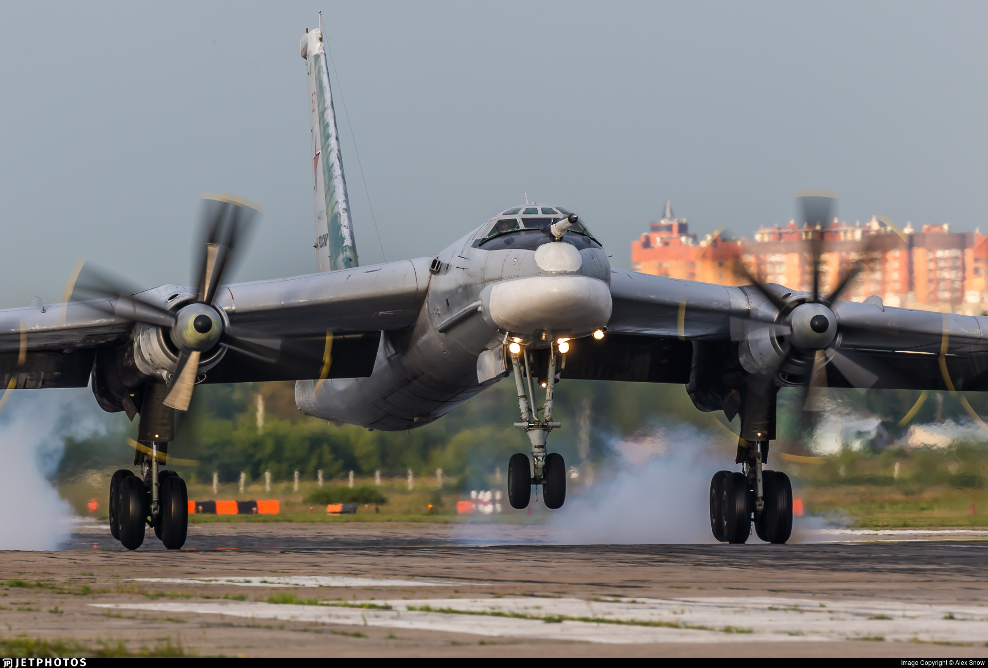 RF-94194 - Tupolev Tu-95MS Bear-H - Russia - Air Force