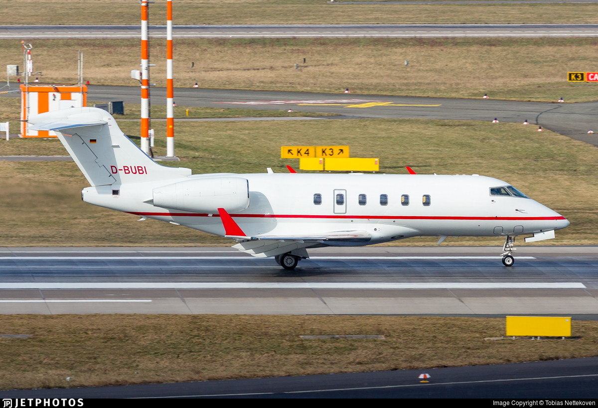 D-BUBI - Bombardier BD-100-1A10 Challenger 300 - Windrose Air Jetcharter