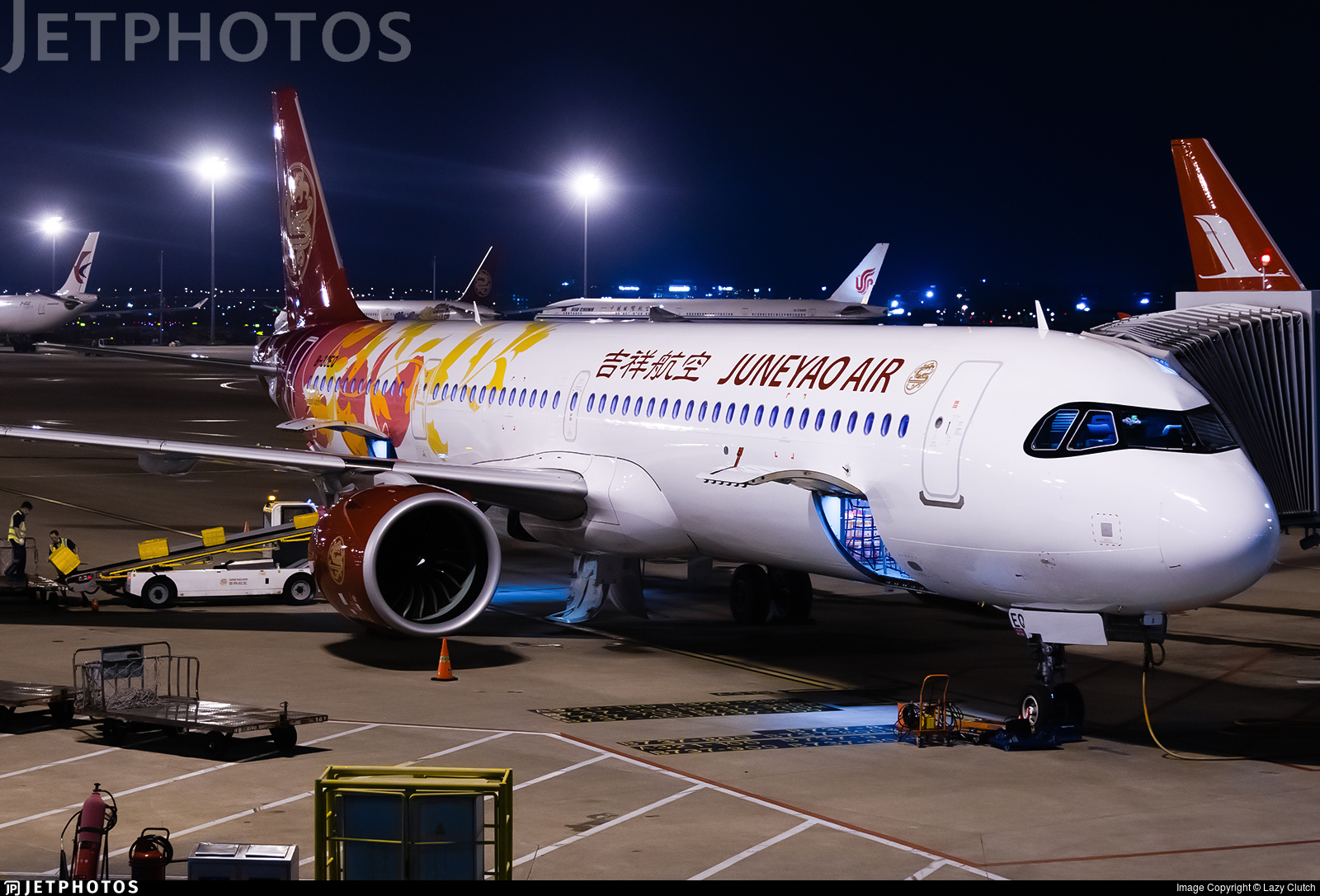 B-30EQ - Airbus A321-271NX - Juneyao Airlines