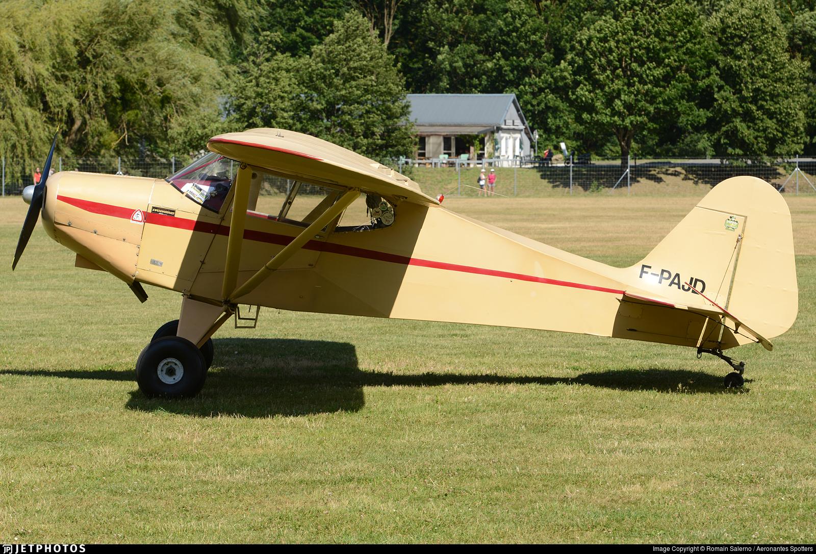 F-PAJD - Wag-Aero Sport Trainer - Private