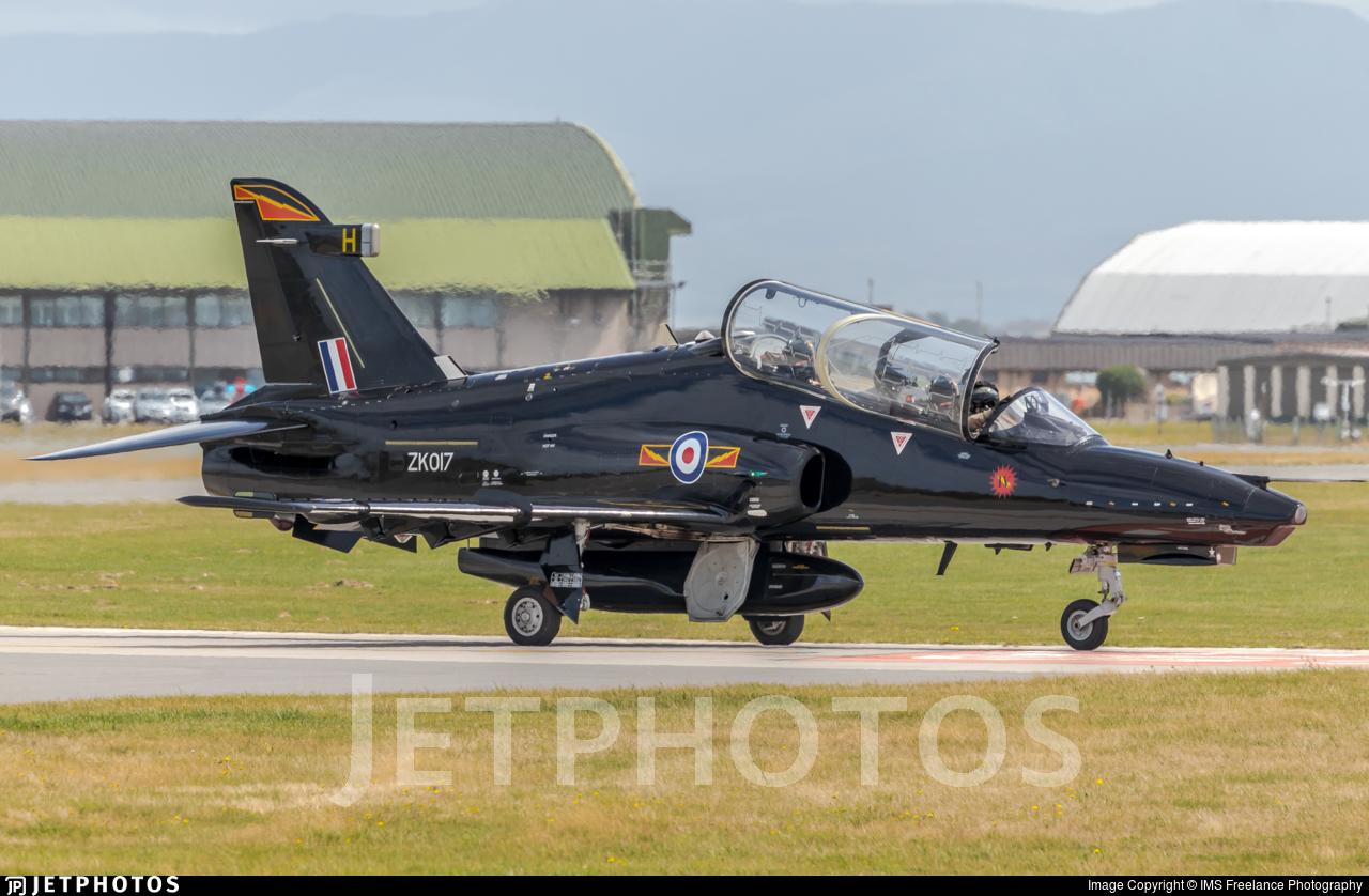 ZK017 - British Aerospace Hawk T.2 - United Kingdom - Royal Air Force (RAF)