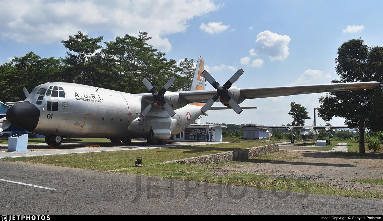 T-1301 - Lockheed C-130B Hercules - Indonesia - Air Force