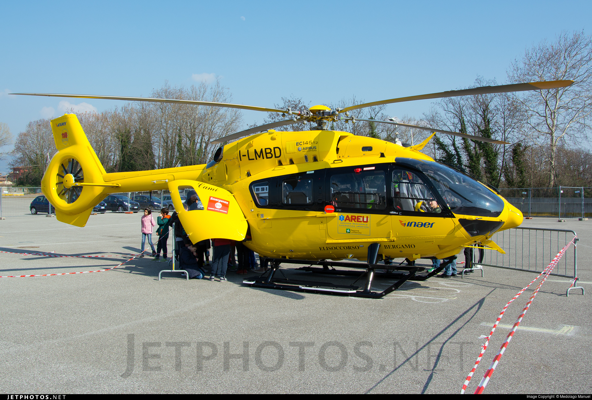 I-LMBD - Airbus Helicopters H145 - Inaer