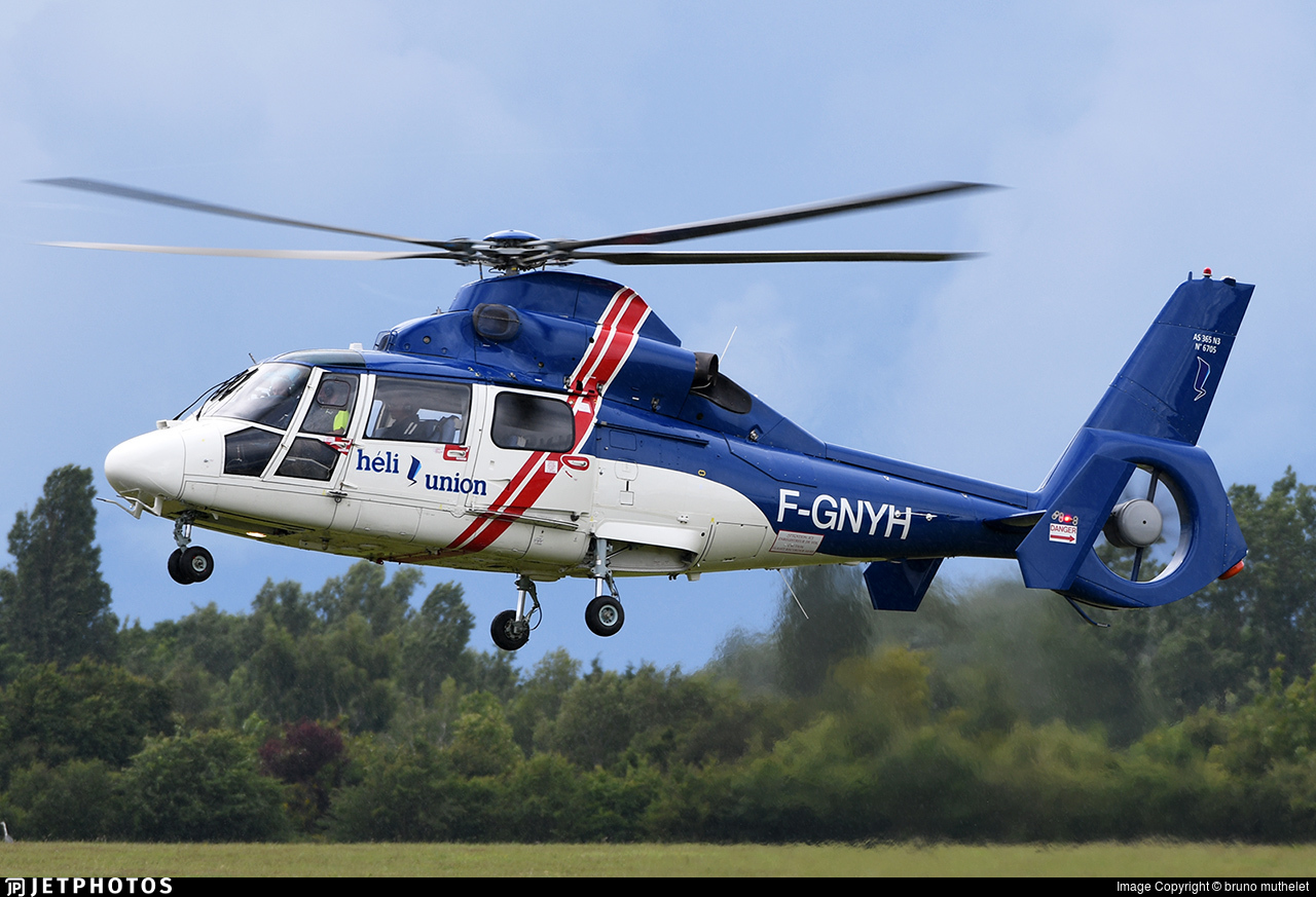 F-GNYH - Eurocopter AS 365N3 Dauphin - Héli-Union