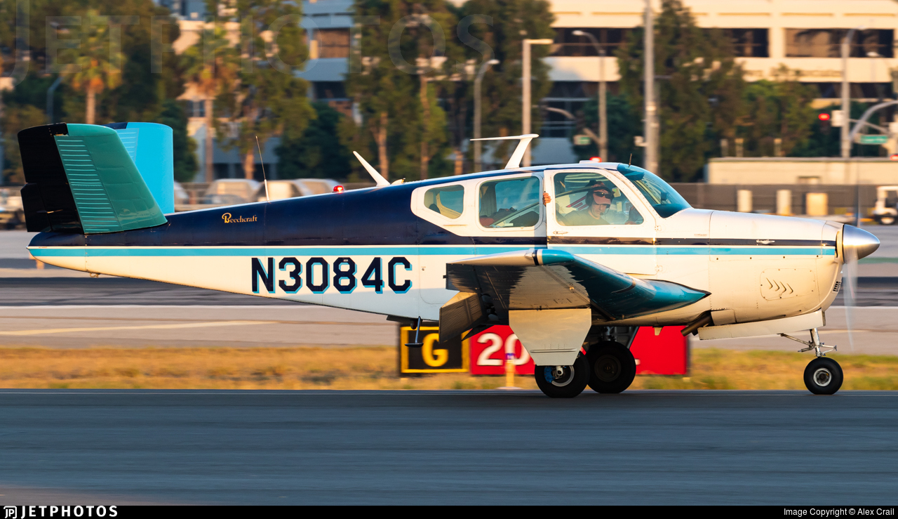 N3084C - Beechcraft K35 Bonanza - Private