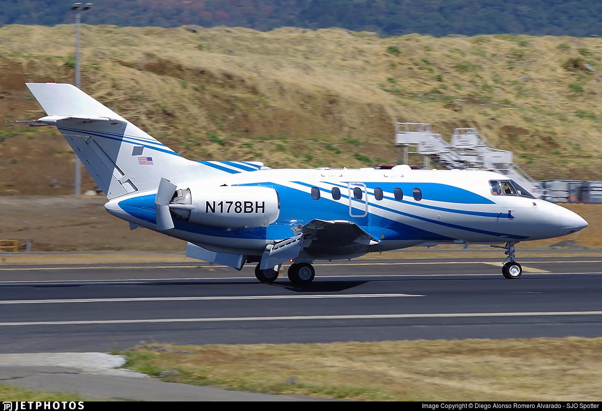 N178BH - Raytheon Hawker 800XP - Private