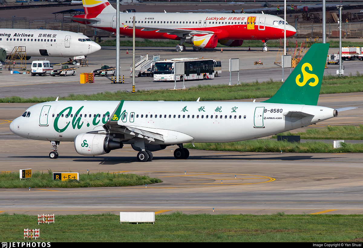 B-8580 - Airbus A320-214 - Spring Airlines