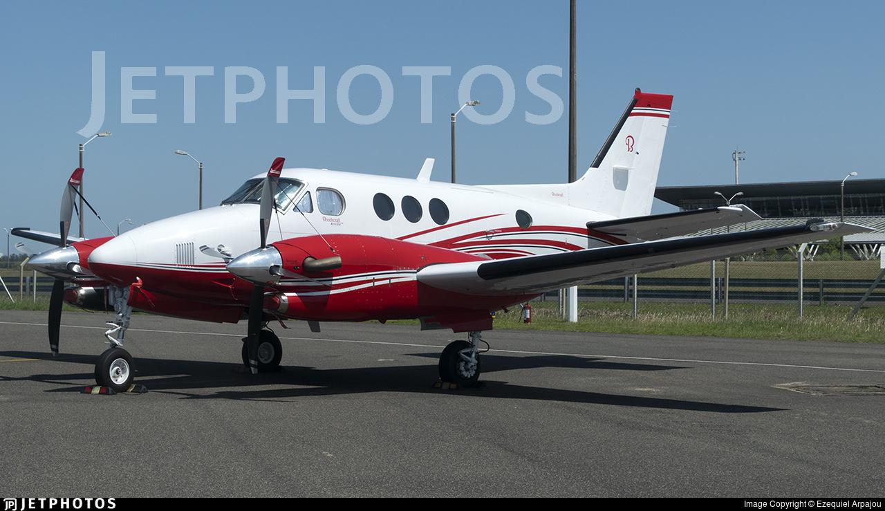 N1110K - Beechcraft C90B King Air - Private