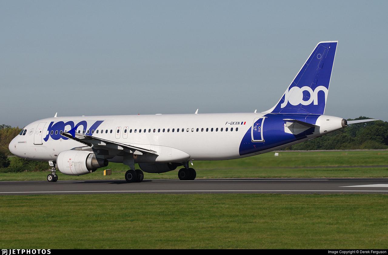 F-GKXN - Airbus A320-214 - Joon