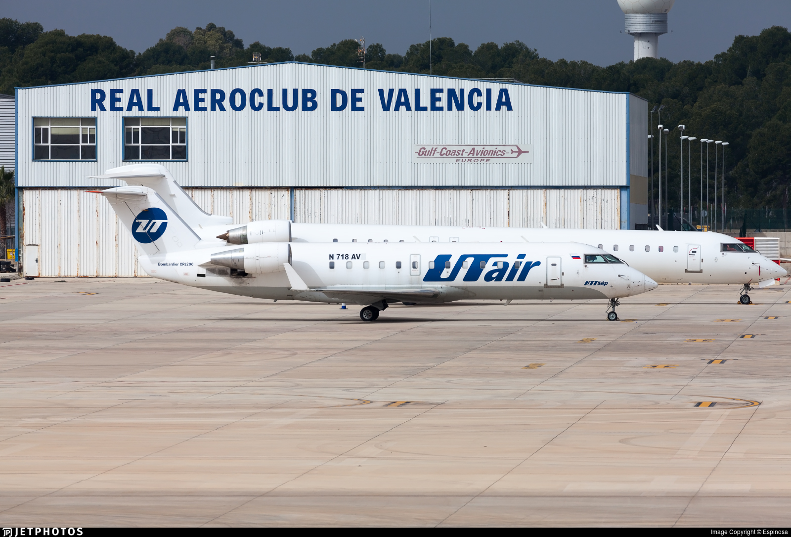 N718AV - Bombardier CRJ-200LR - Avmax Group
