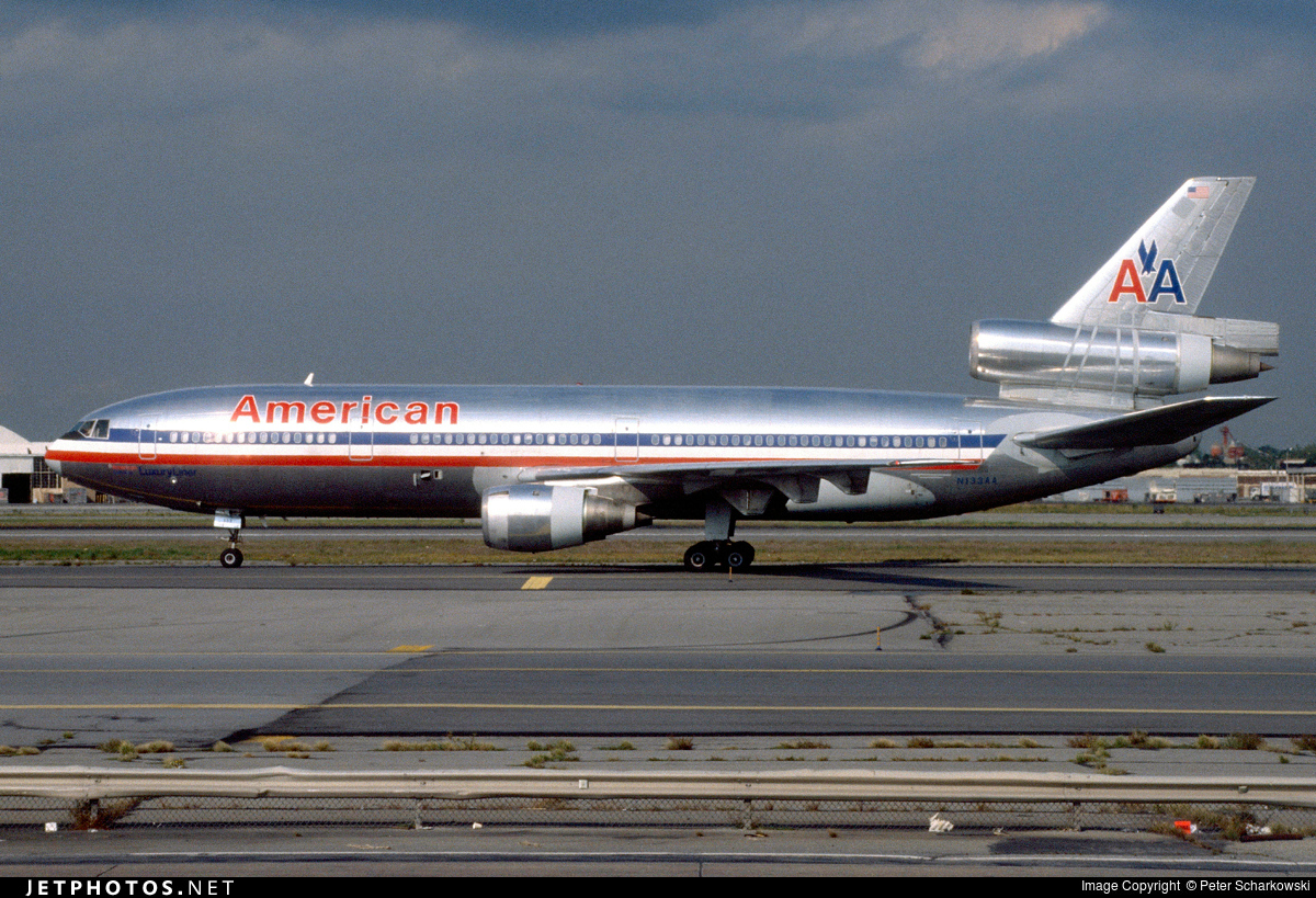 N133AA - McDonnell Douglas DC-10-10 - American Airlines