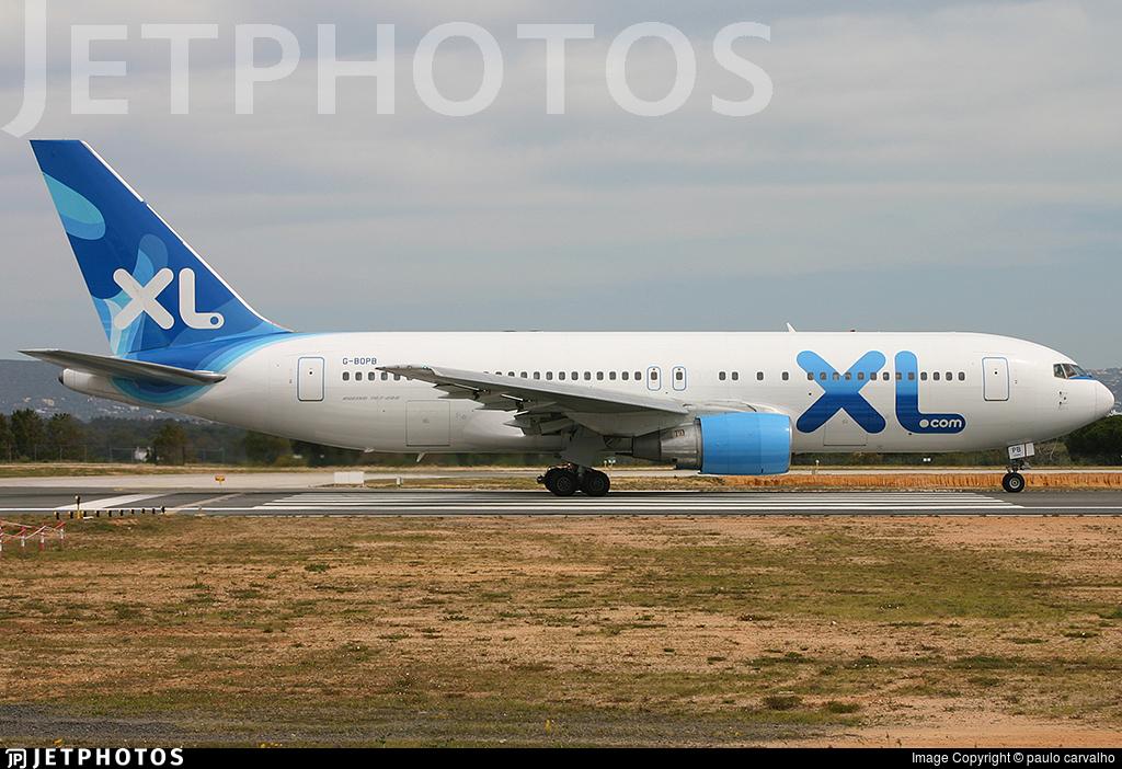 G-BOPB - Boeing 767-204(ER) - XL Airways