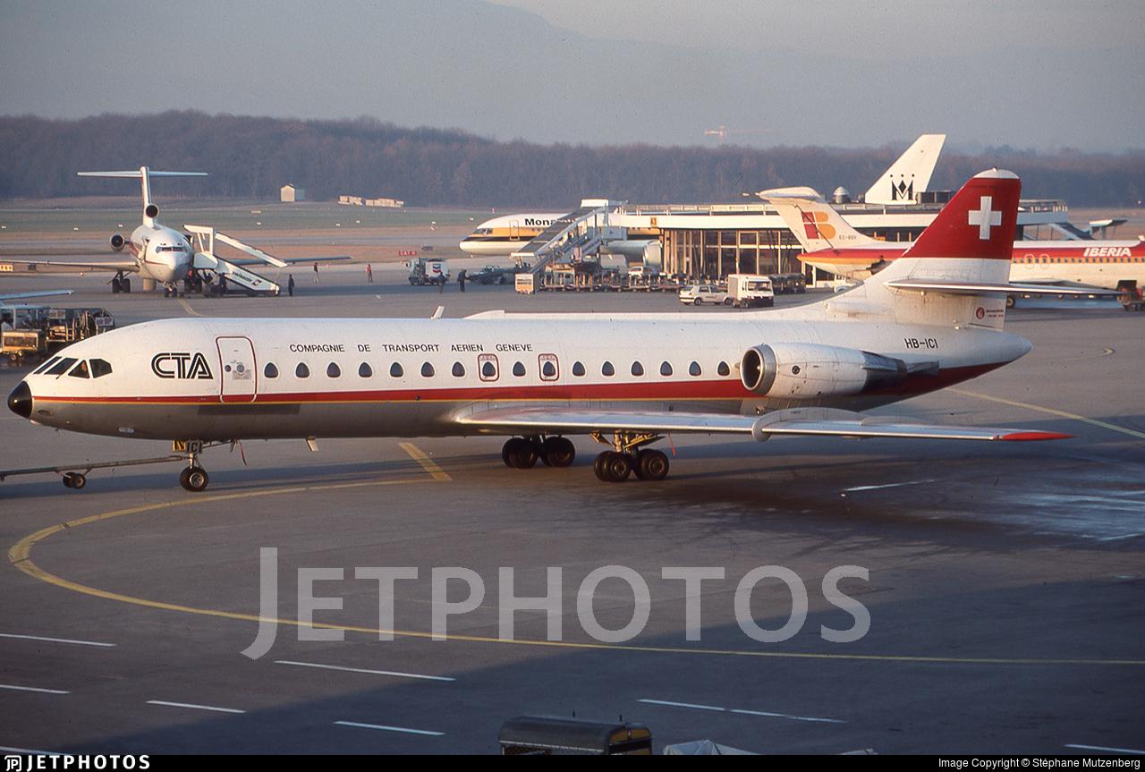 HB-ICI - Sud Aviation SE 210 Caravelle 10R - CTA