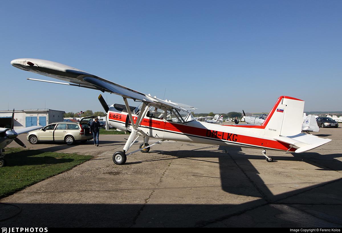 OM-LKG - Aero L-60S Brigadýr - Private