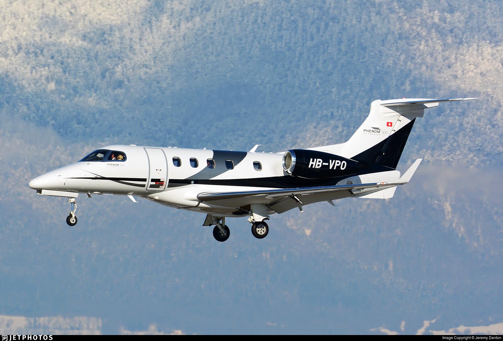 HB-VPO - Embraer 505 Phenom 300 - Speedwings Executive Jet
