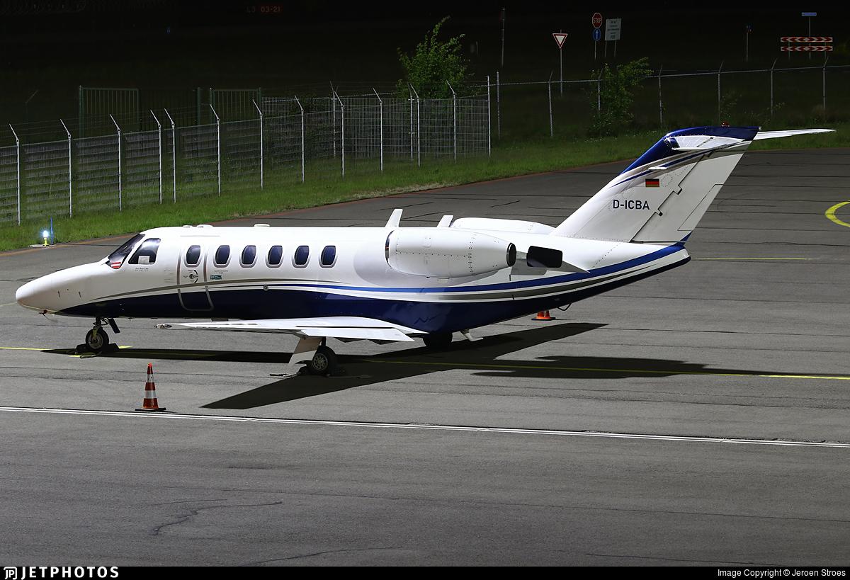 D-ICBA - Cessna 525 Citationjet CJ2 - ProAir Aviation