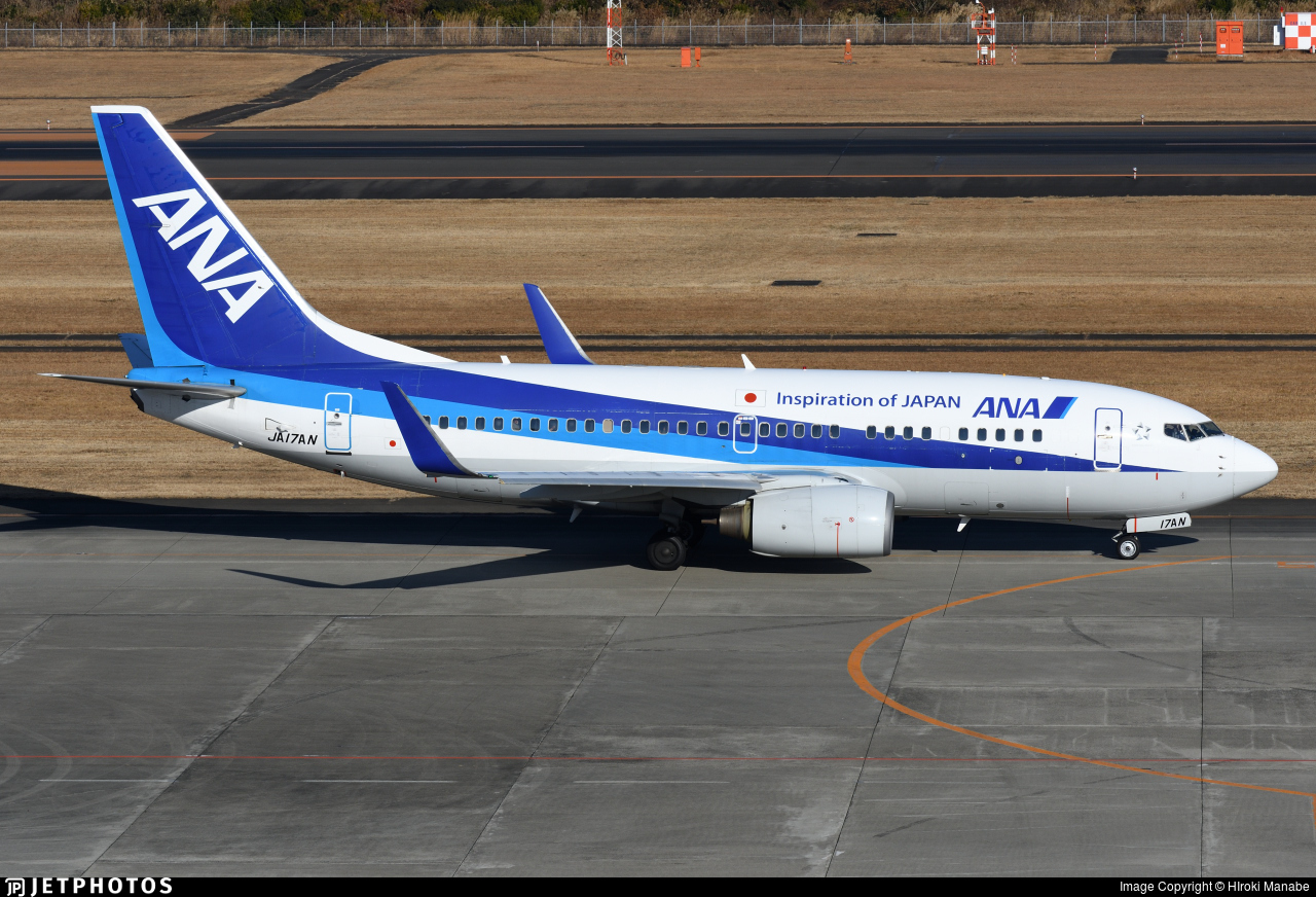 JA17AN - Boeing 737-781 - All Nippon Airways (ANA)