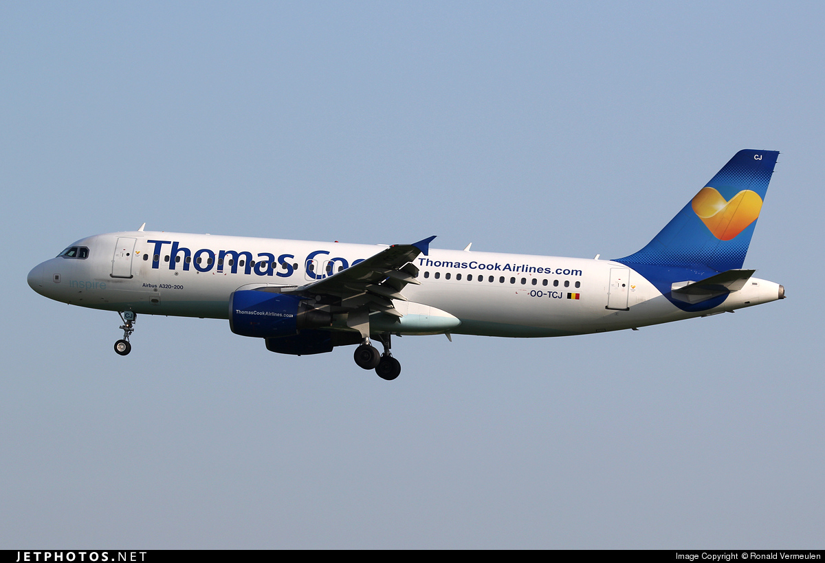 OO-TCJ - Airbus A320-214 - Thomas Cook Airlines Belgium