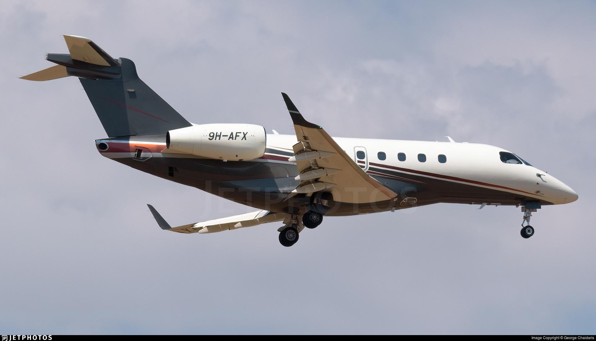 9H-AFX - Embraer EMB-550 Legacy 500 - Flexjet