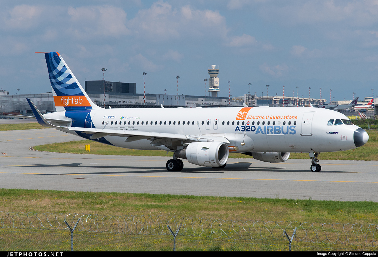 F-WWBA - Airbus A320-211 - Airbus Industrie