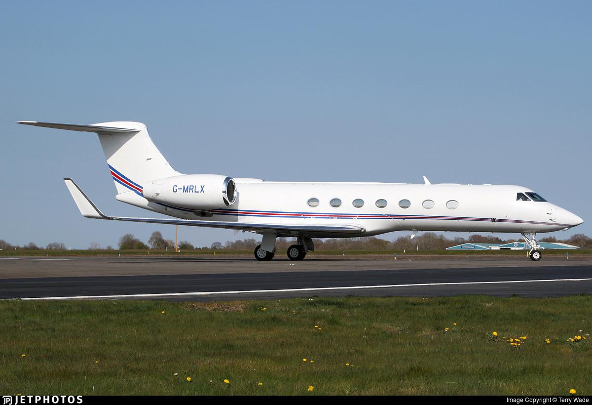 G-MRLX - Gulfstream G550 - Private