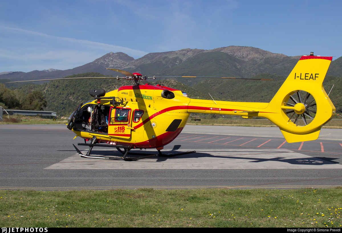 I-LEAF - Airbus Helicopters H145 - Air Green