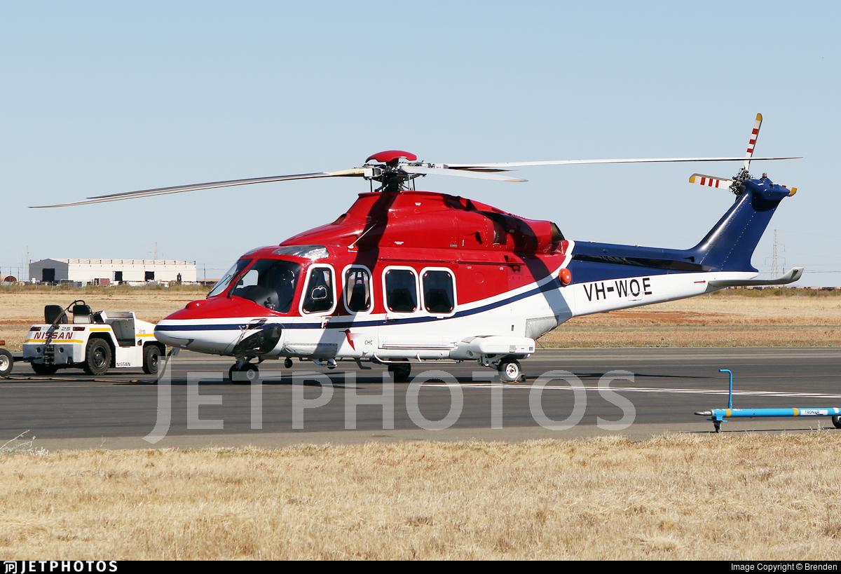 VH-WOE - Agusta-Westland AW-139 - Lloyd Helicopters