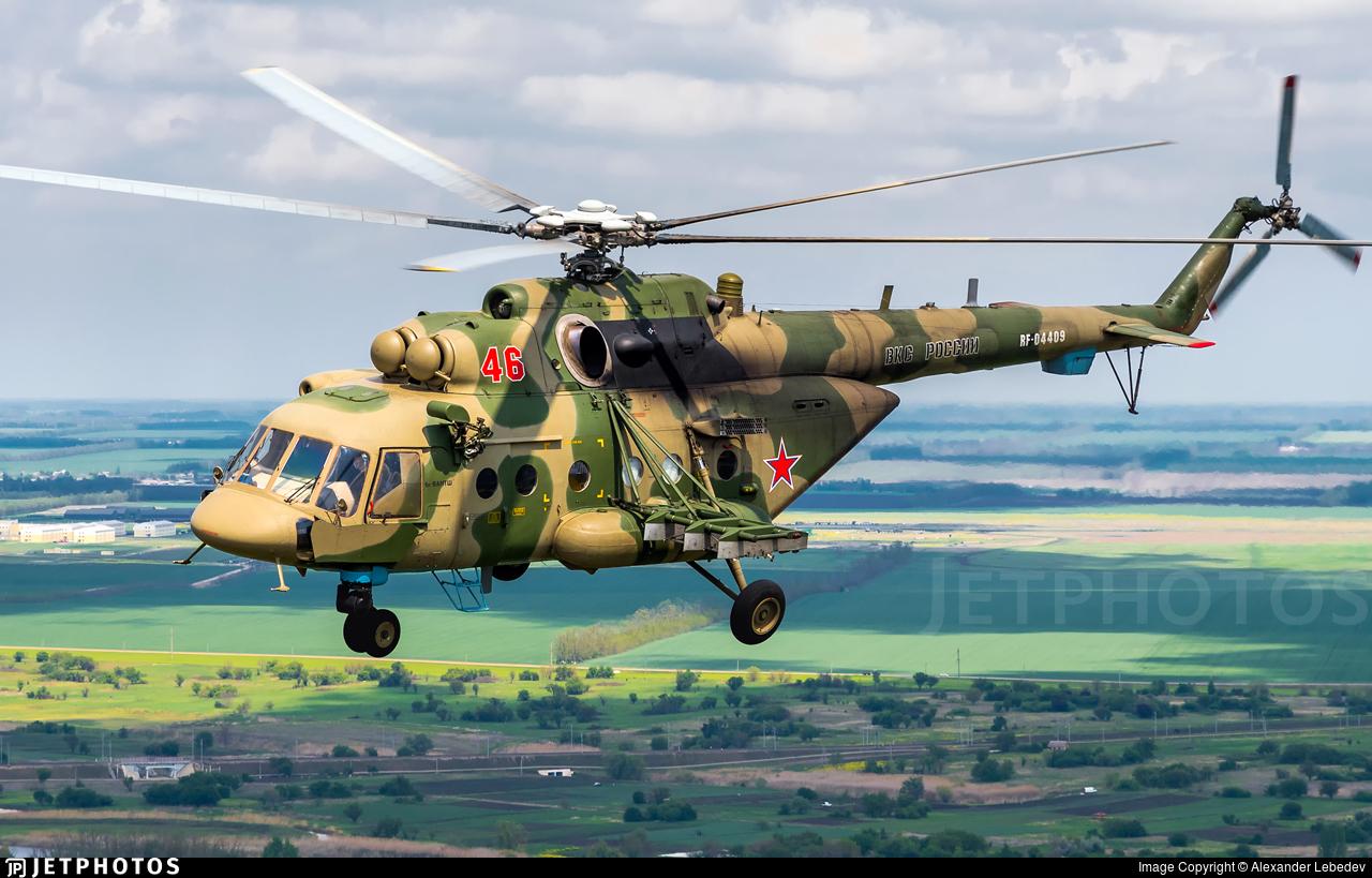 RF-04409 - Mil Mi-8AMTSh Hip - Russia - Air Force