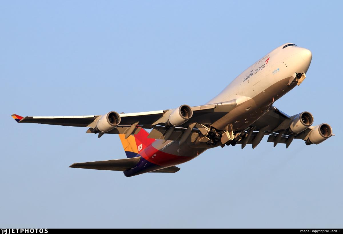 HL7413 | Boeing 747-48E(BDSF) | Asiana Cargo | Jack Li ...