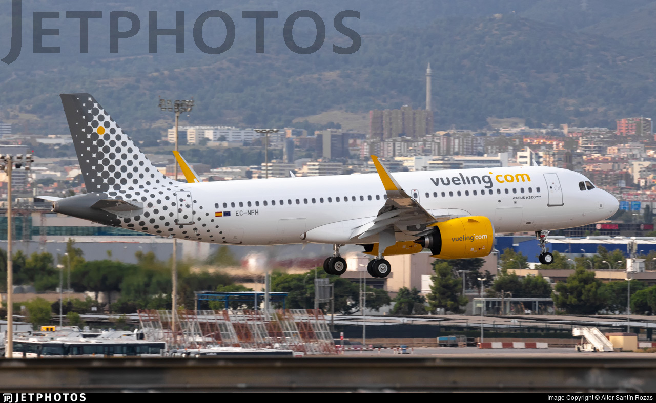 EC-NFH - Airbus A320-271N - Vueling
