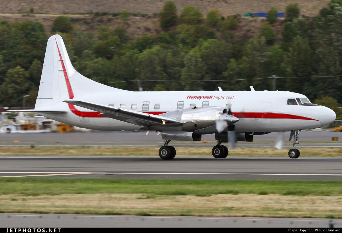 N580HW - Convair CV-580 - Honeywell Aerospace