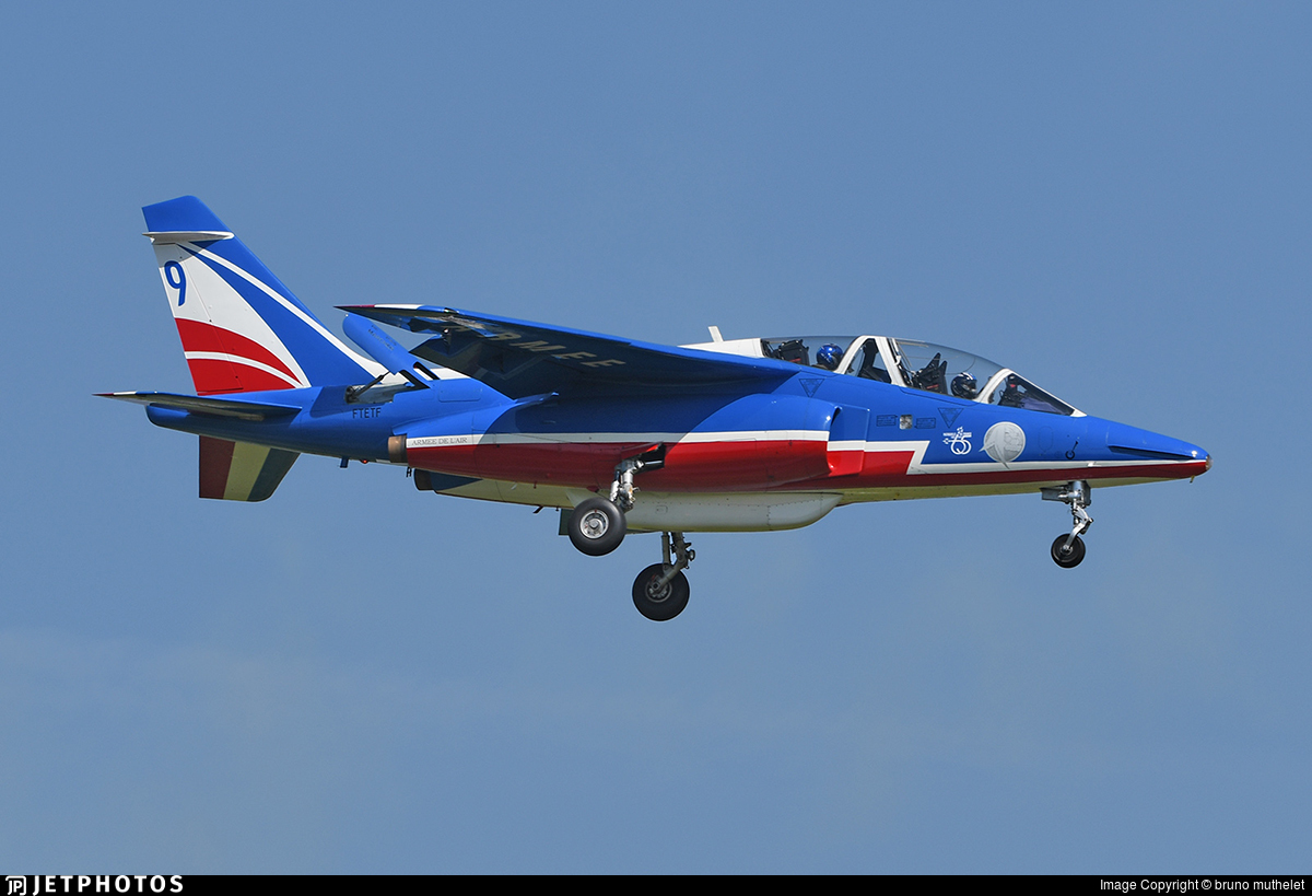 E45 - Dassault-Breguet-Dornier Alpha Jet E - France - Air Force