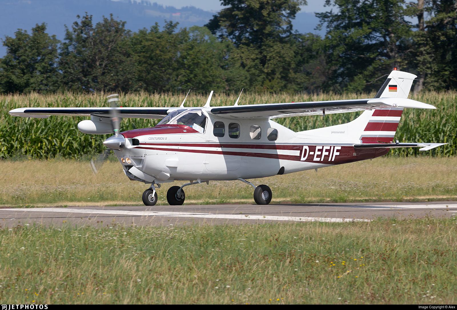 D-EFIF - Cessna P210N Pressurized Centurion II - Private