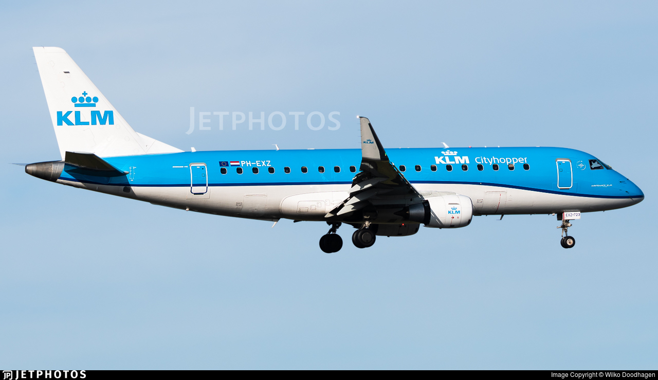 PH-EXZ - Embraer 170-200STD - KLM Cityhopper